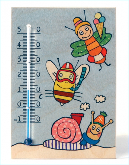 Thermometer - Schnecke